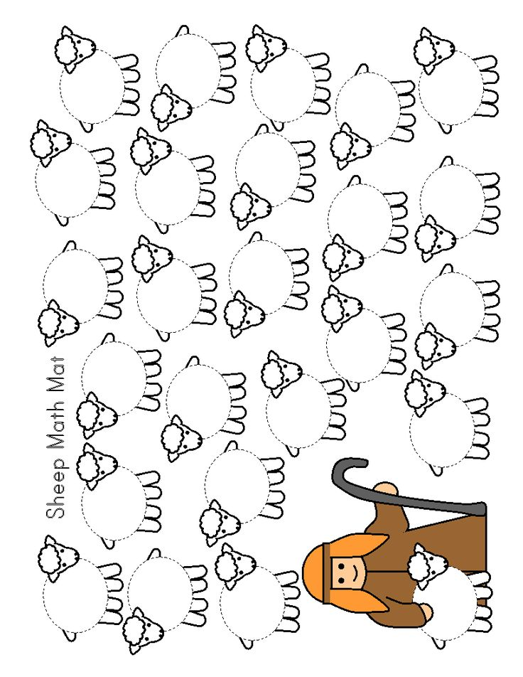 Roll Die And Add Cotton Balls Until All Sheep Are Fill Up Can Also Be Used For Isaiah Scripture Printable Coloring Page On This Board
