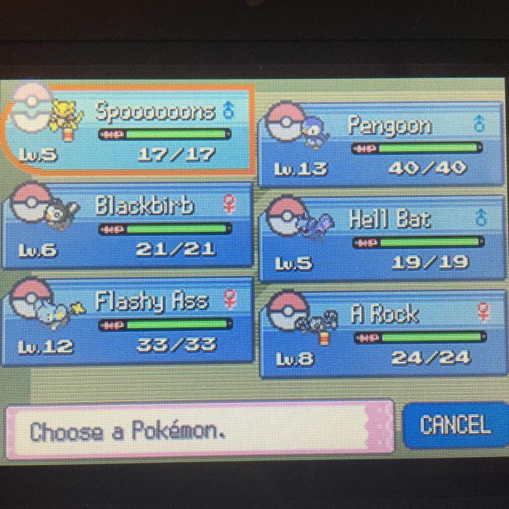 Going back through Pokémon Pearl!