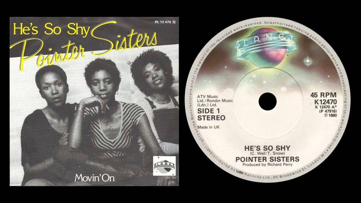 The Pointer Sisters - He's So Shy Lyrics | MetroLyrics