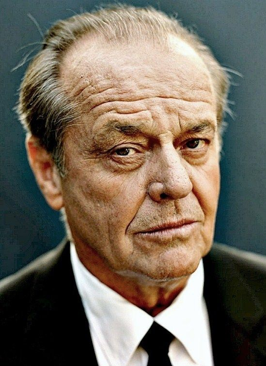 Jack Nicholson | by Sam Jones. Some faces just get more awesome.