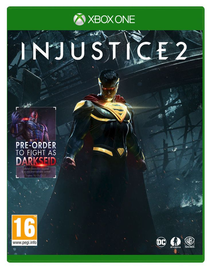 Injustice 2 - including Darkseid DLC Xbox One XboxOne game in Video Games & Consoles, Video Games | eBay!