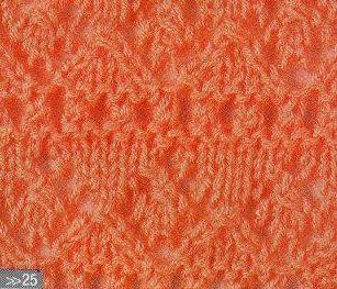Patrón #1372: Punto Calado a Dos Agujas | CTejidas [Crochet y Dos Agujas]