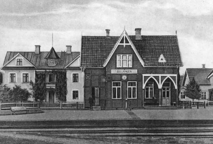 Gullringen trainstation in the 30´s.
