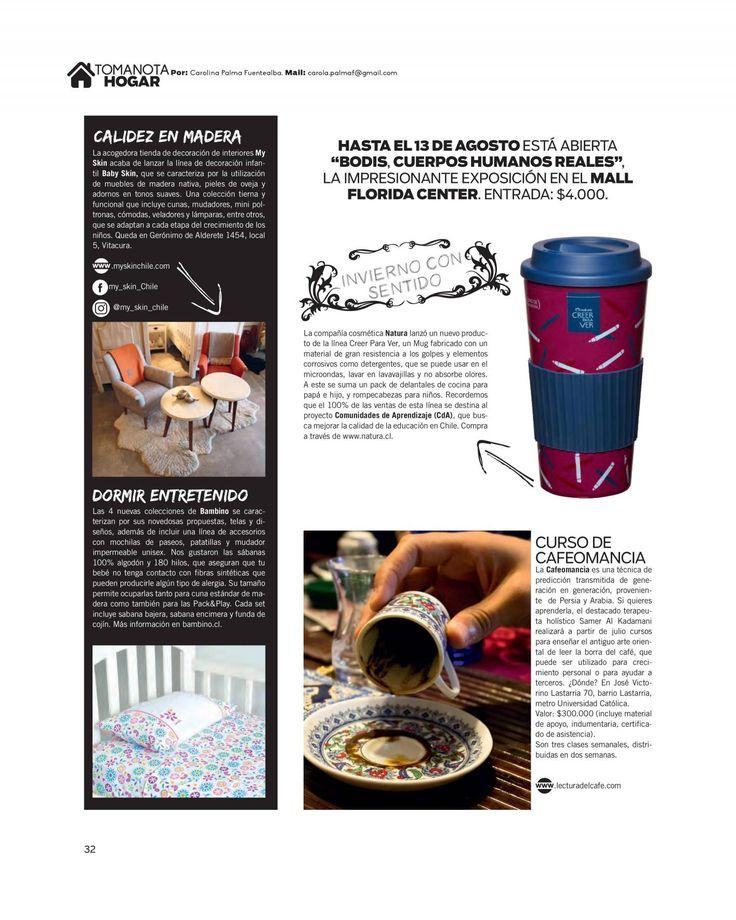 ReadMetro - Page 32 Edition 2017-07-04. Nueva Mujer, Chile