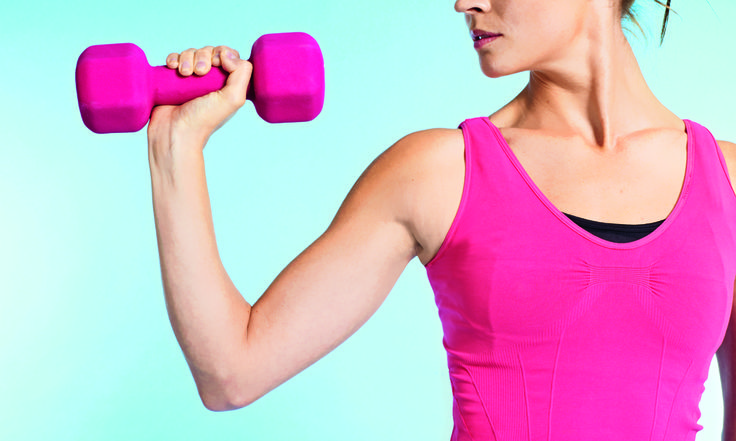 Sculpt awesome arms for party season with this speedy upper-body workout
