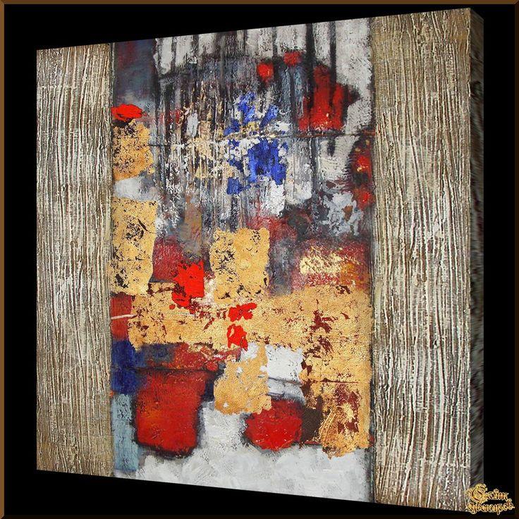 Abstract - 553 Абстракция, картины, картина маслом, сувенир, подарки
