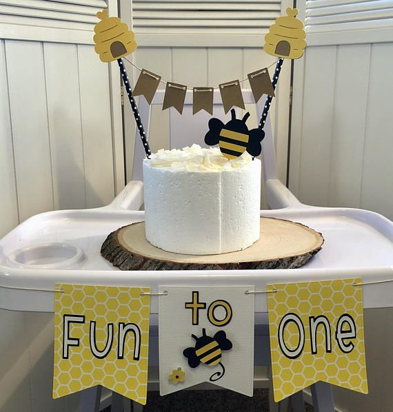 683359934e2e8 Fun To Bee One High Chair Party Pack A perfect touch for ...