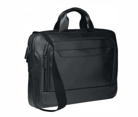 The Spectrum Computer Case made from Nappa leather has soft, comfortable handles and a padded computer compartment. It can carry most 17″ screen laptops and comes with a front storage pocket.  This is a reliable, great quality, fully lined laptop case that suits any serious business person.