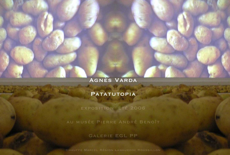 Agnès Varda, exhibition Chauffe Marcel, From Point-to-Point Gallery Ales 2006