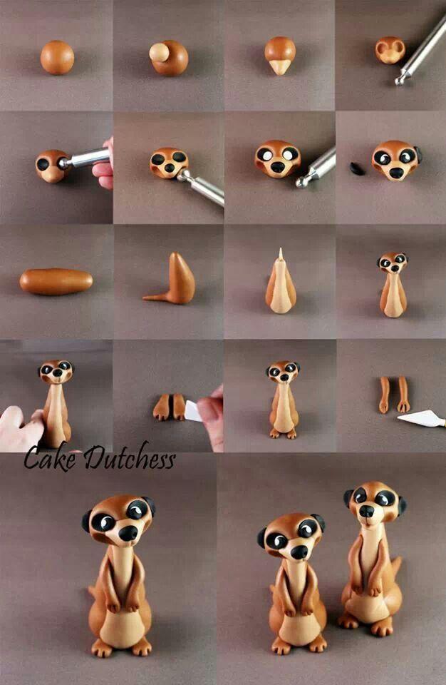 como hacer una suricata                                                                                                                                                                                 Más