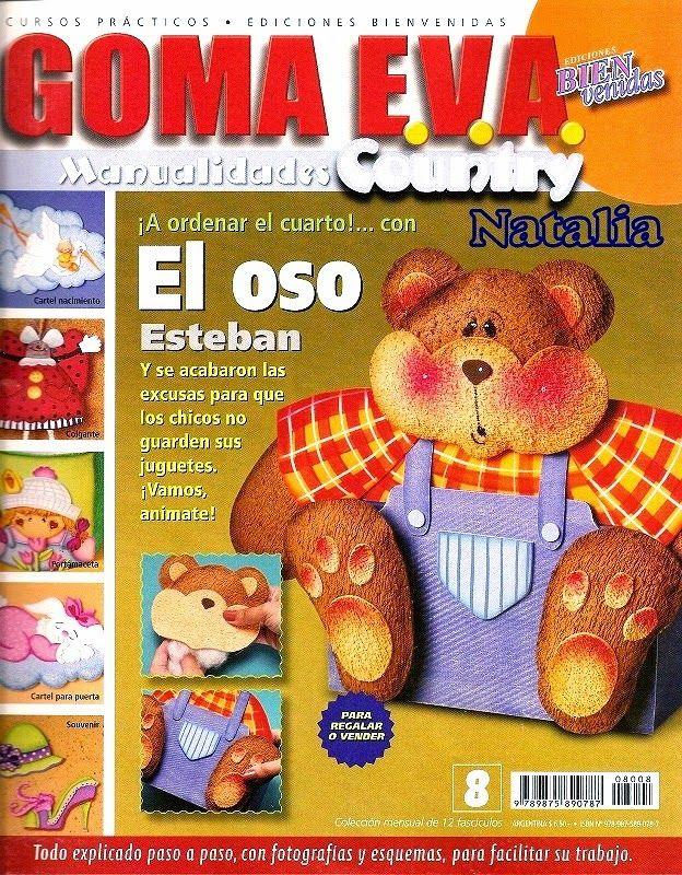 Revistas de manualidades Gratis: 12 revistas de goma eva gratis