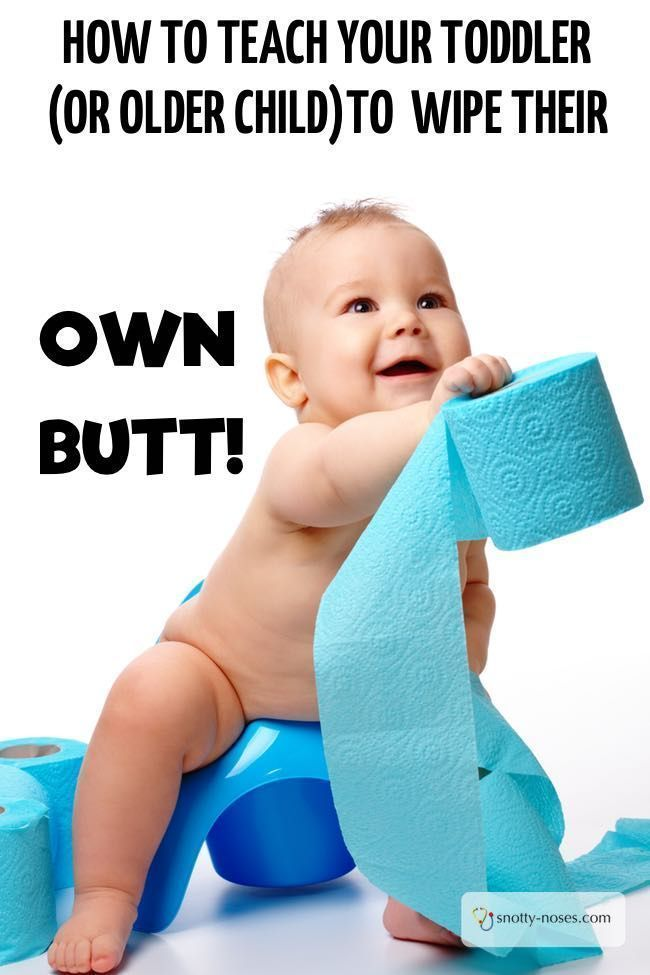 Teach Your Four Year Old To Read: How To Teach Your Child To Wipe Their Bottom