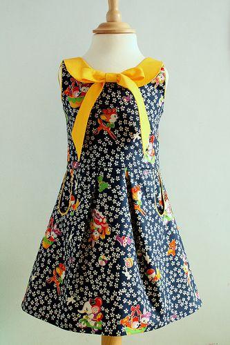Antoinette-kleedje (Van Katoen)