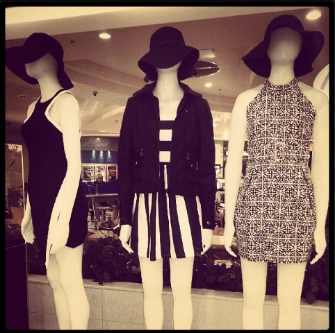 Monochrome Magic is in this season! Stripes, Dots or patterns it's all about the black and white!