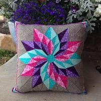 Quilting : Good Luck Star Pillow