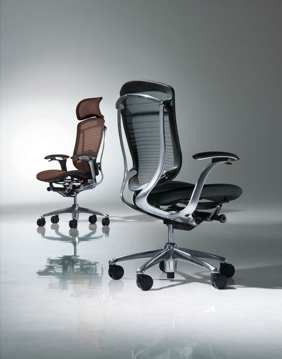 Furniture That Works With You: Okamura's high-performance task chairs