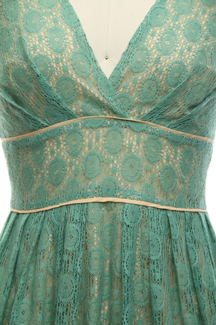 Aqua blue lace over cream dress - ideal for weddings, bar/bat mitzvahs, parties, holidays, proms, or any other special occasion.