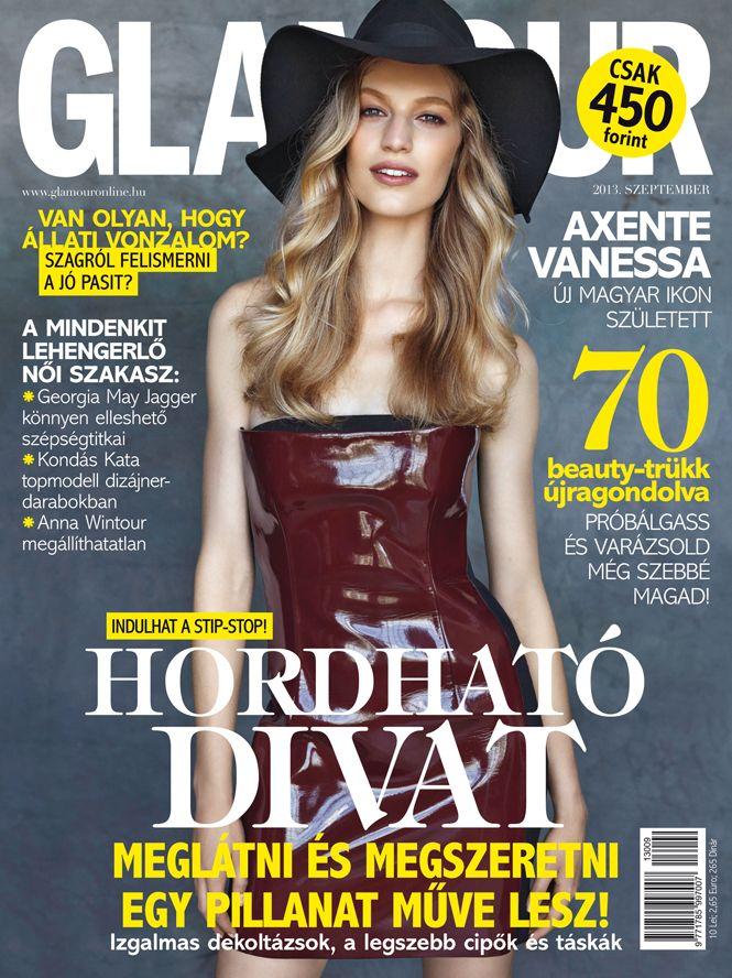 Vanessa Axente, September 2013 issue, Photo by Zoltán Tombor