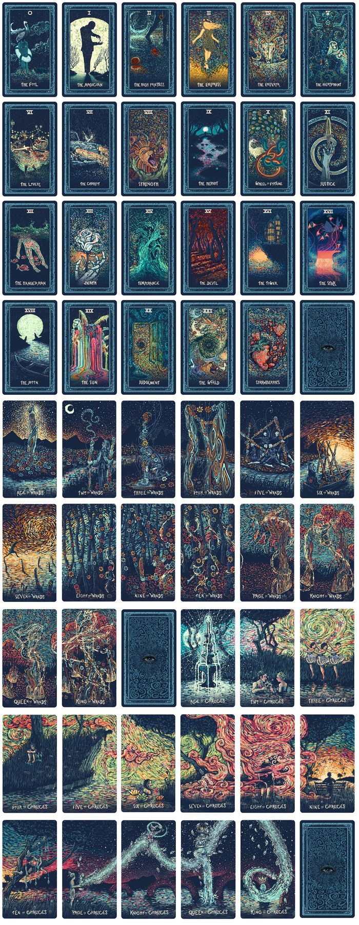 Best 20+ Tarot Card Art Ideas On Pinterest
