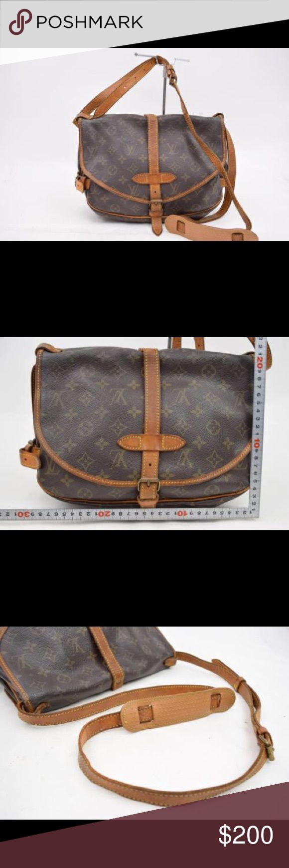Louis Vuitton Saumur 30 Pre Owned Louis Vuitton Saumur 30. Date Code is AR1912 made in France will go lower $$$ off site. Louis Vuitton Bags Crossbody Bags
