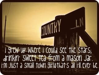 true :)Kelly Pickler, Quote, Country Girls, Growing Up, Southern Girls, Sweets Teas, Country Life, Mason Jars, Small Town Girls