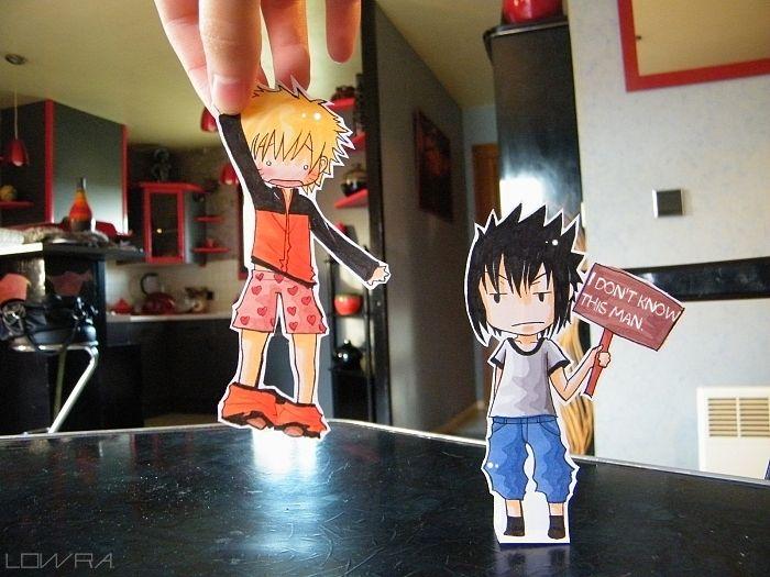 Paper Child Naruto