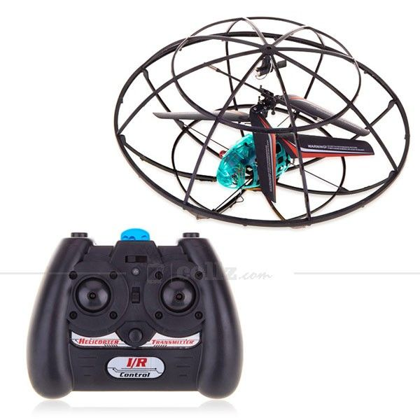 UFO QR Helicopter - Radio Control #ufo #radiocontrol #helicopter #cellz
