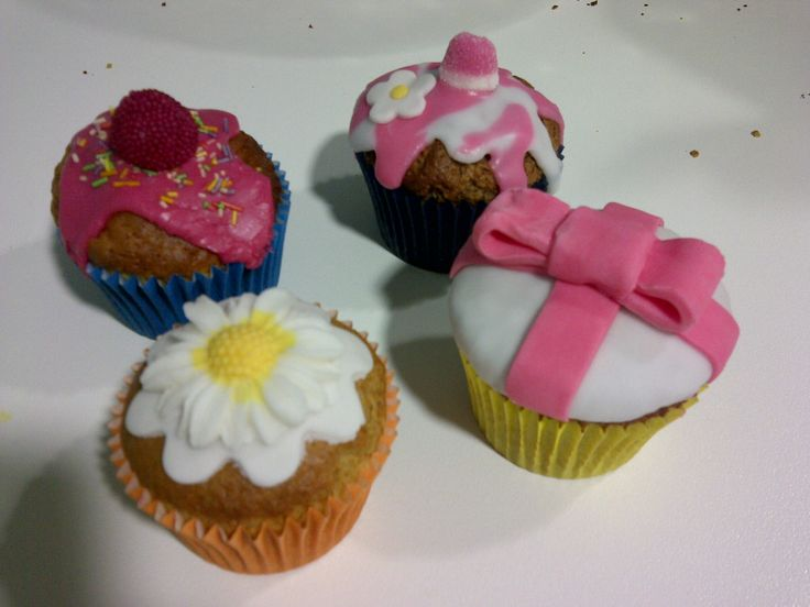 I enjoy cooking cupcakes and muffins with my daughters. Is very fun and they love it¡ It helps increasing their imagination and mine:)