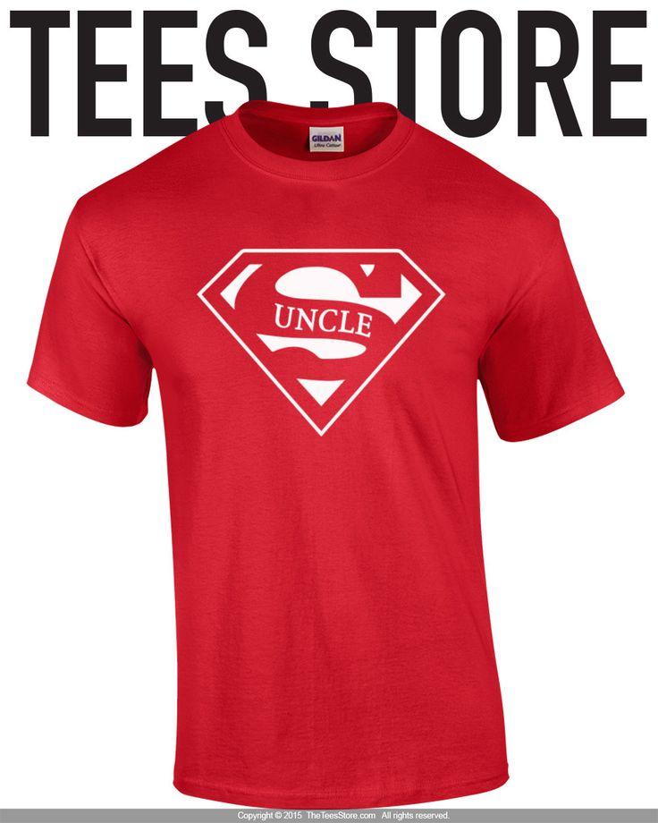 Uncle t-shirt / Super Uncle Shirt / Gift For Uncle / Uncle Gift / Super Uncle…