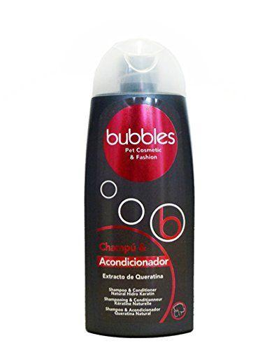 Aus der Kategorie Shampoos  gibt es, zum Preis von EUR 7,90  Das 2-in-1 Hundeshampoo von Bubbles ist für Hunde mit langem Fell geeignet. Das Shampoo enthält Conditioner, entwirrt das Haar und verhindert eine erneute Knotenbildung. Seine pflegende Formel mit Hydro Keratin spendet dem Haar Feuchtigkeit, nährt das Haar und repariert es. Das Bubbles Hundeshampoo verleiht dem Fell einen angenehmen, fischen Duft. Gebrauchsanweisung: Das Hundeshampoo kann pur angewendet werden oder bis 1 zu 5…