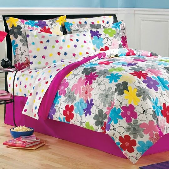 Graphic daisy bed in a bag marissa new bedroom - Anna s linens bathroom accessories ...
