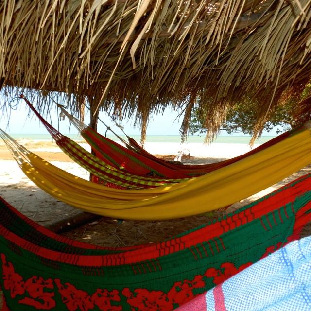 Ranchería en la Guajira, Colombia