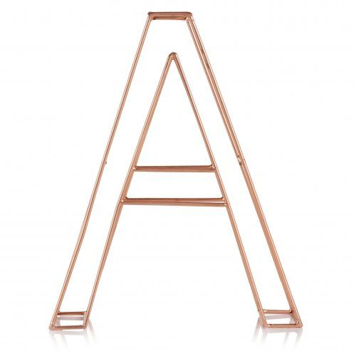 Copper Alphabet Letter from Oliver Bonas id have the letter G