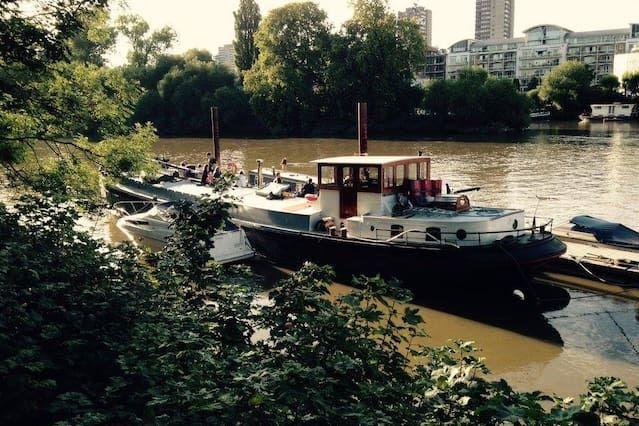 74e0cbcb9239900363e5c6a23eb91fe0 - Thames River Boat To Kew Gardens