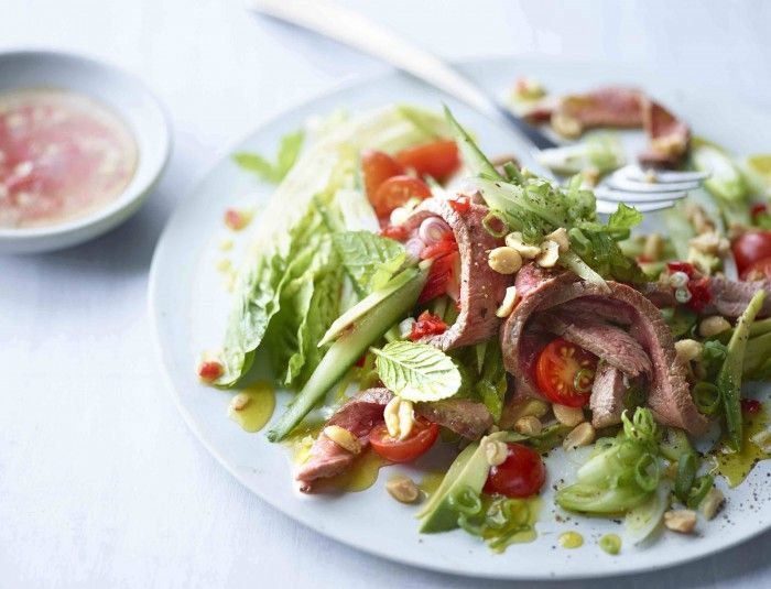GUILTEEEEEE! You've got try this tasty Thai beef salad / The Body Coach Blog / The Body Coach