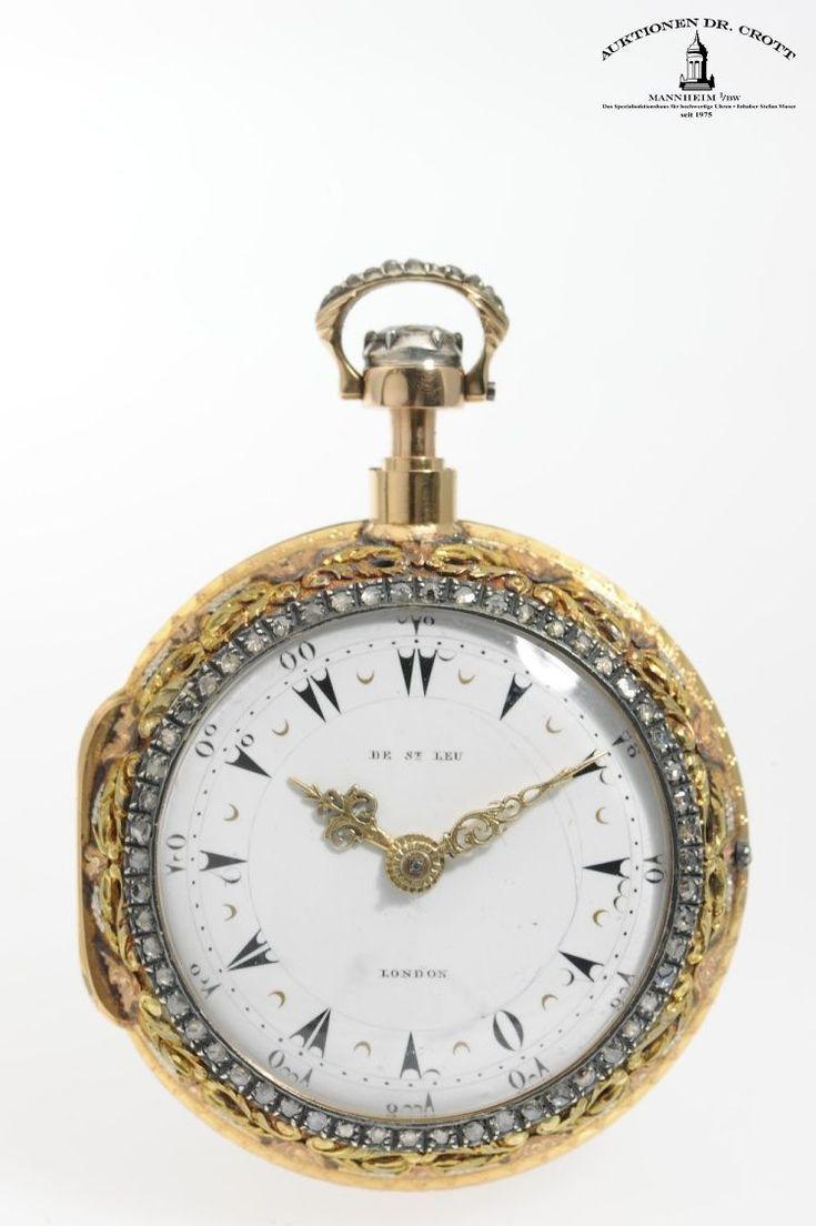 Daniel de St. Leu, Watchmaker to her Majesty, London - Pocket Watch