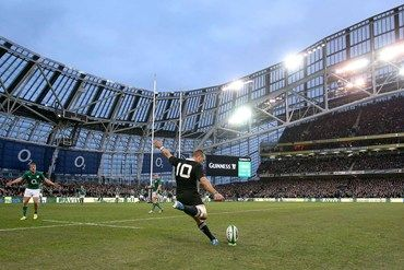 Aaron Cruden to seal the Game for a All Blacks win against Ireland.