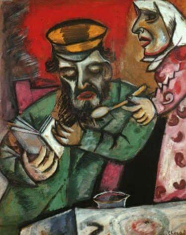 De ouders van Marc Chagall