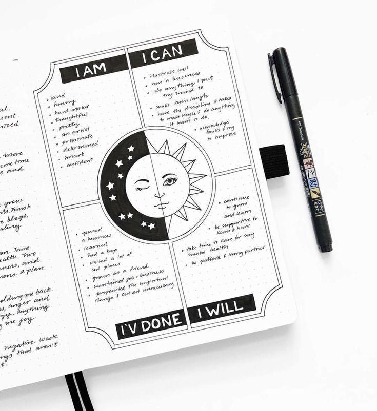 10 Bullet Journal Hacks, die Sie stehlen möchten …
