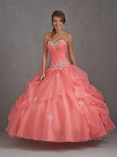 vestidos de quince años como de princesas