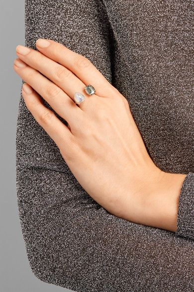 Melissa Joy Manning - 14-karat Gold, Sterling Silver, Pearl And Pyrite Ring - 7