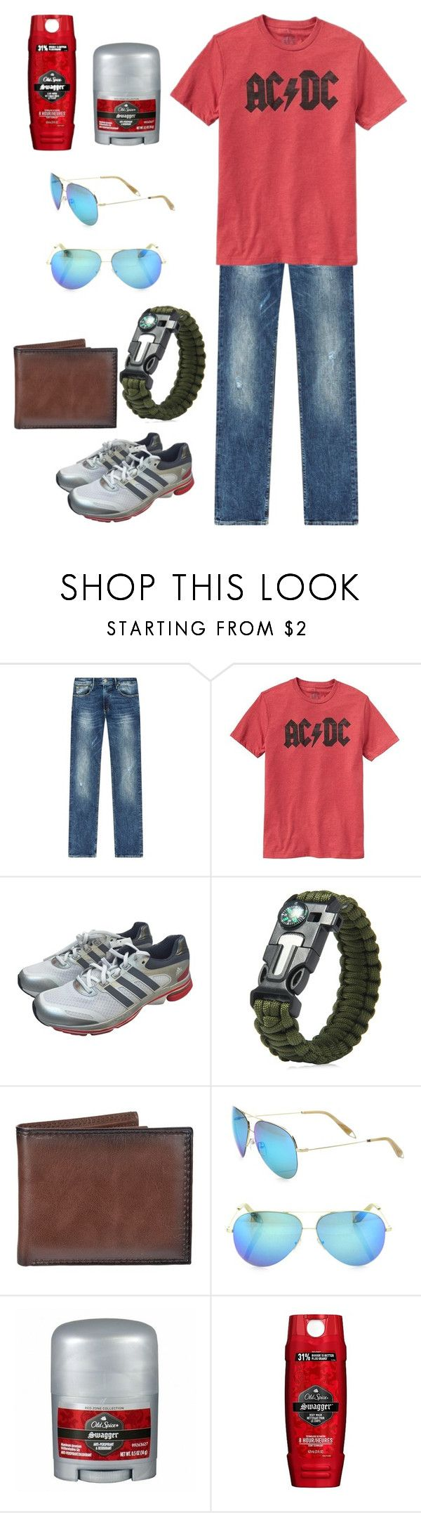 """""""MASON"""" by gracegrimm on Polyvore featuring Armani Jeans, Gap, adidas, Croft & Barrow, Victoria Beckham, Old Spice, men's fashion and menswear"""