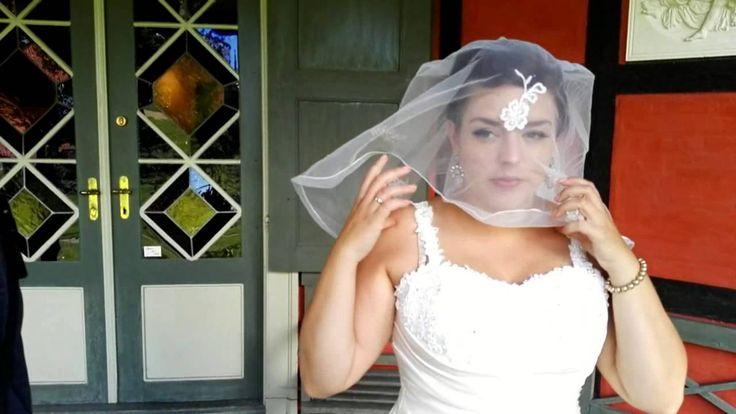 Bag kameraet, bryllupsfotografering på Sanderumgaard.