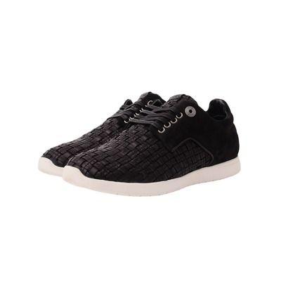 Vico - Yale Hand Wovern Footwear - Black