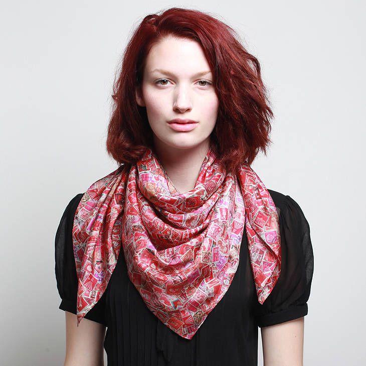 Les 25 meilleures id es concernant nouer un foulard sur - Nouer une echarpe ...