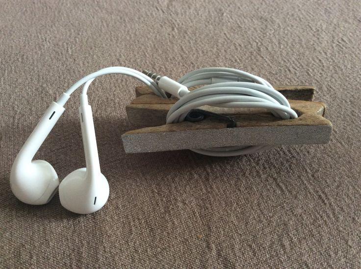 Rangement écouteurs