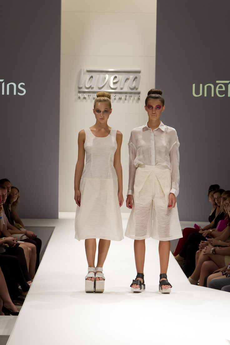 UNEINS SS15 runway, Berlin Fashion Week