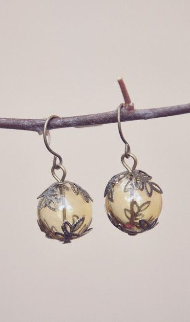 honey tree earrings