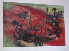 mario-kriek--1906-1977--amsterdams-expressionist-originele-collage--dreamboat--