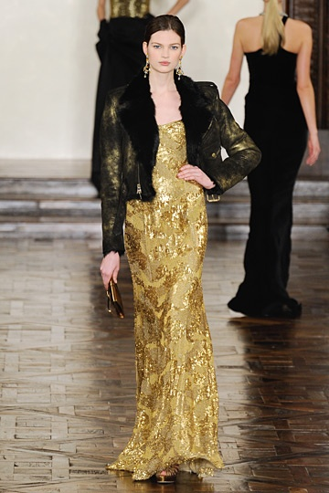 Ralph Lauren: Dresses Inspiration, Gold Dresses, Fashion Week, Dance Dresses, Golden Dresses, Gold Gown, Ralph Lauren I, Lauren Gold, Gold Metals